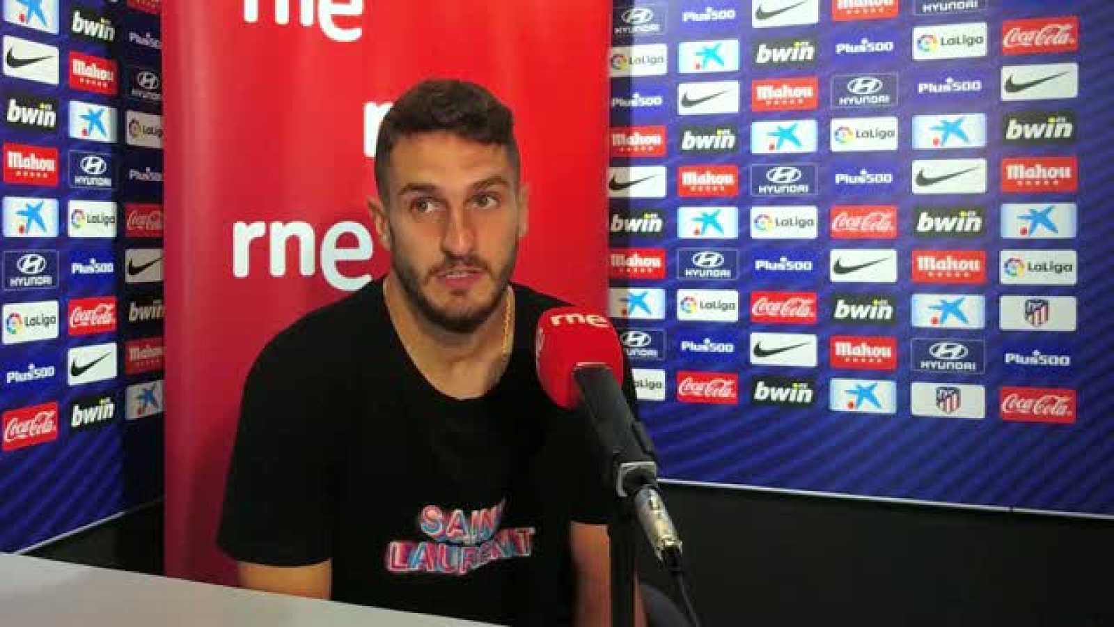 Radiogaceta de los deportes - Koke sobre el Barça - Escuchar ahora