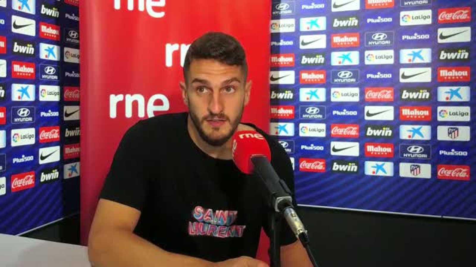 Radiogaceta de los deportes - Koke sobre la temporada del Atlético de Madrid  - Escuchar ahora