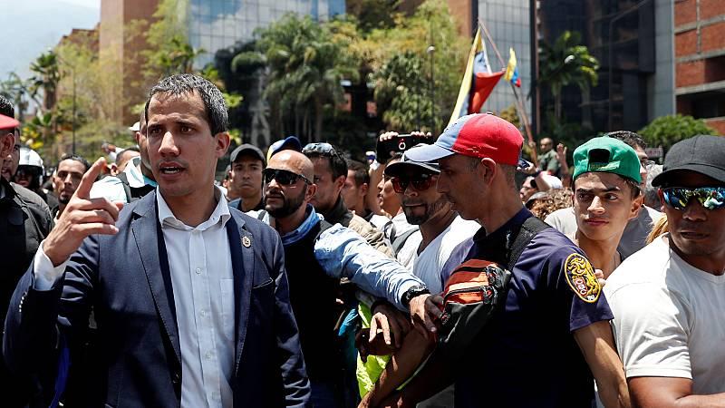 """Guaidó: """"Todos los venezolanos, incluyendo las fuerzas armadas están a favor de la constitución"""""""