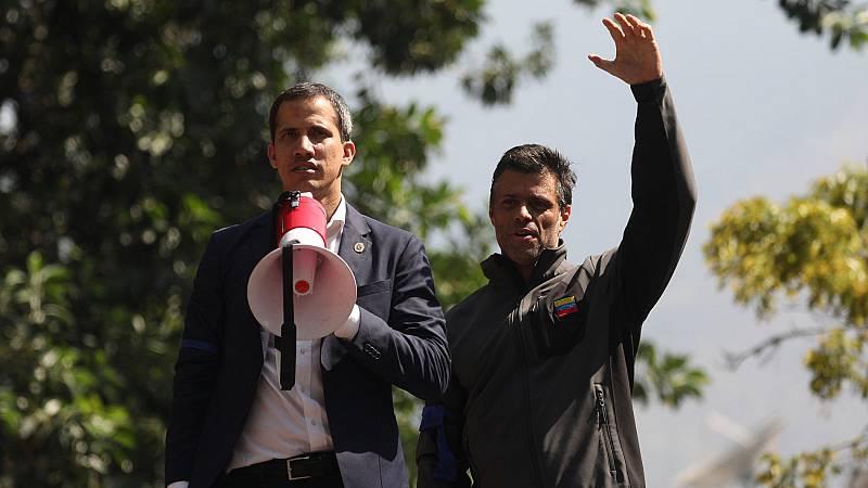 Guaidó vuelve a desafiar a Maduro con la liberación de Leopoldo López