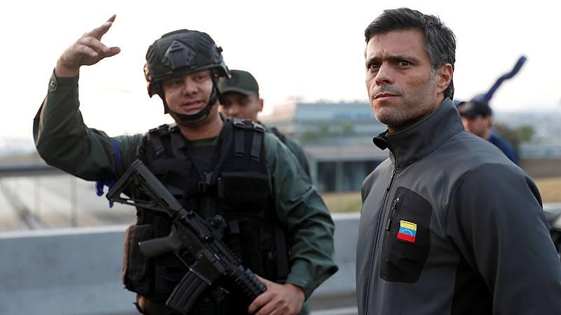 """Leopoldo López, tras su liberación: """"Salí de mi casa acompañado de quienes me custodiaron"""""""