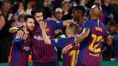 El Barça quiere acercarse al triplete venciendo al Liverpool en el Camp Nou