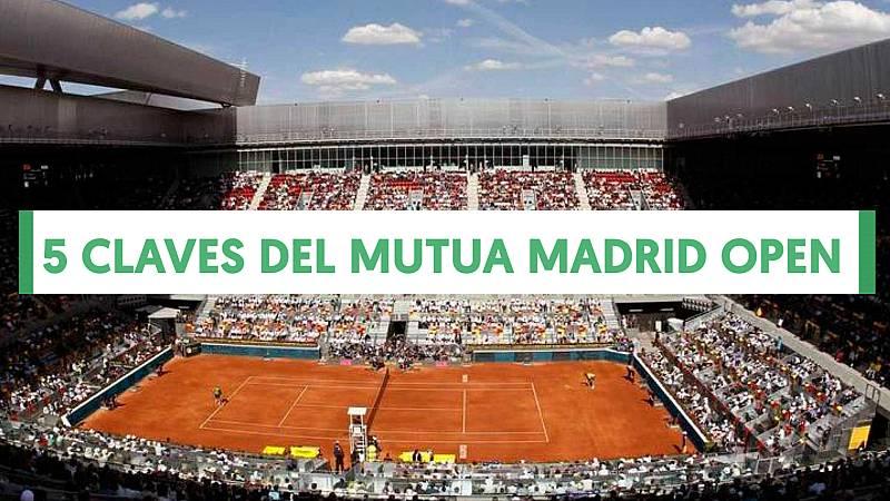 El regreso de Federer, el adiós de Ferrer o el salto de Feliciano a la dirección del torneo son algunas de las claves del Mutua Madrid Open 2019, que arranca este sábado 4 de mayo en la Caja Mágica de Madrid y que podrás seguir al completo en RTVE.