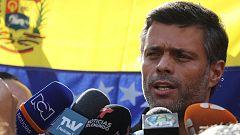 """Leopoldo López dice que no tiene """"miedo"""" a la cárcel pese a orden de captura"""