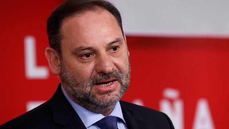 """Ábalos reitera la apuesta del PSOE por un Gobierno """"monocolor"""", con acuerdos """"programáticos"""" con Unidas Podemos"""