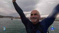 España Directo - Surfeando con Aitor Francesena