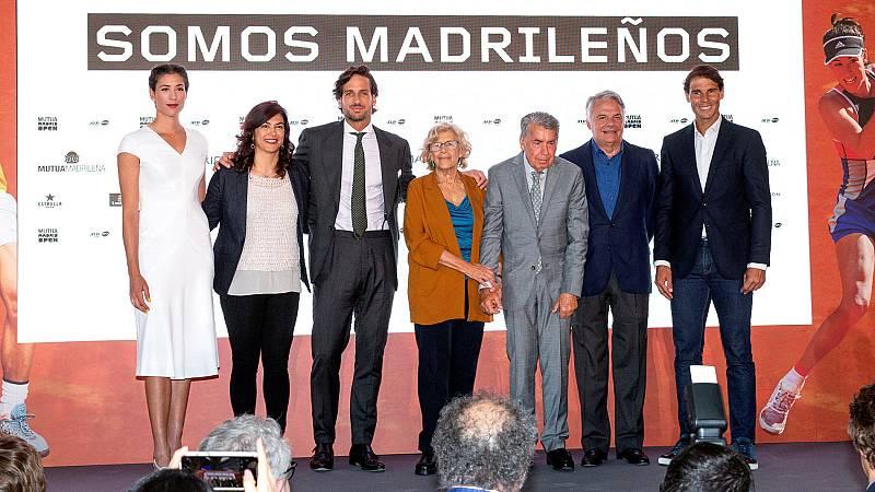 """Nadal: """"Gracias a Madrid y a todos los españoles por apoyarme"""""""
