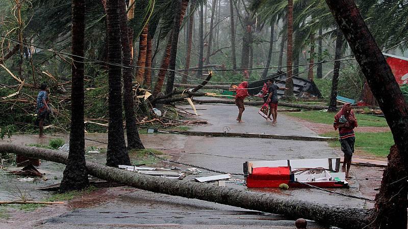 El ciclón Fani deja catorce muertos en la India y Bangladesh