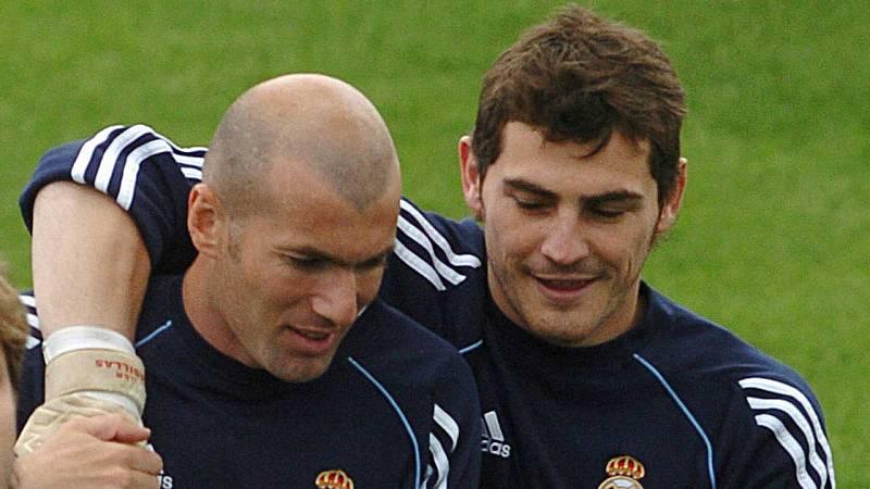 """Zidane, sobre Casillas: """"Está animado y mejor, le mandamos mucha fuerza"""""""