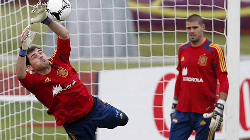 Emotivo mensaje de Víctor Valdés a Iker Casillas