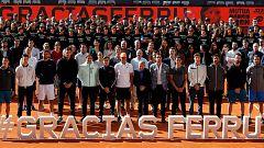 El mundo del tenis rinde homenaje al gran David Ferrer