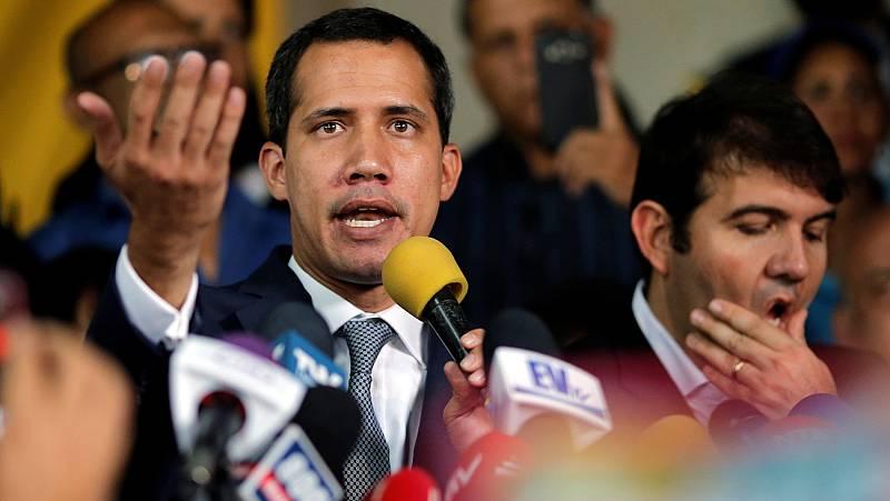 """Guaidó, sobre el apoyo de militares: """"Algunos no cumplieron su palabra"""""""
