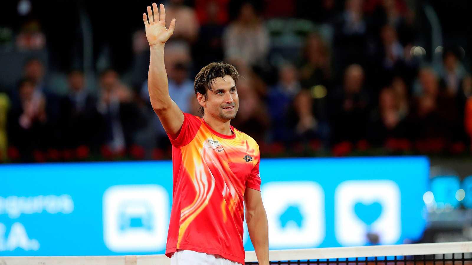 """El tenista español David Ferrer ha dicho adiós a su carrera como tenista al caer en Madrid con Alexander Zverev. Ferrer ha dicho que es un """"privilegiado"""" por haber terminado así y se ha mostrado feliz por su despedida."""