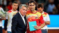 Ferrer, homenajeado en Madrid