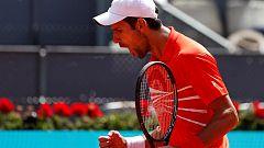 Tenis - ATP Mutua Madrid Open: N. Djokovic - J. Chardy