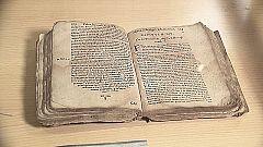 UNED - Inauguración de donación de libros antiguos (Opera Bernardi ,1530) y primeras ediciones por el profesor José Romera a la Biblioteca de la UNED - 03/10/19