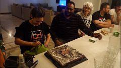 Recordamos el cumpleaños de Sara en la casa