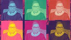 Ruth Bader Ginsburg, 85 años, magistrada en el Tribunal Supremo, e ídolo de los jóvenes en las redes sociales
