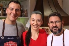 """La chef mexicana Sara Herrera visita """"Hacer de comer"""""""