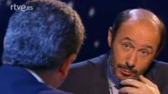 La noche abierta - Alberto Cortez, Alfredo Pérez Rubalcaba y Arantxa Sánchez Vicario