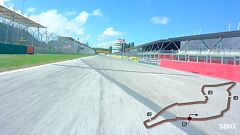 El circuito de Imola, 'on board'