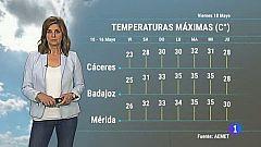 El tiempo en Extremadura - 10/05/19