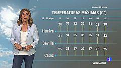 El tiempo en Andalucía - 10/05/2019