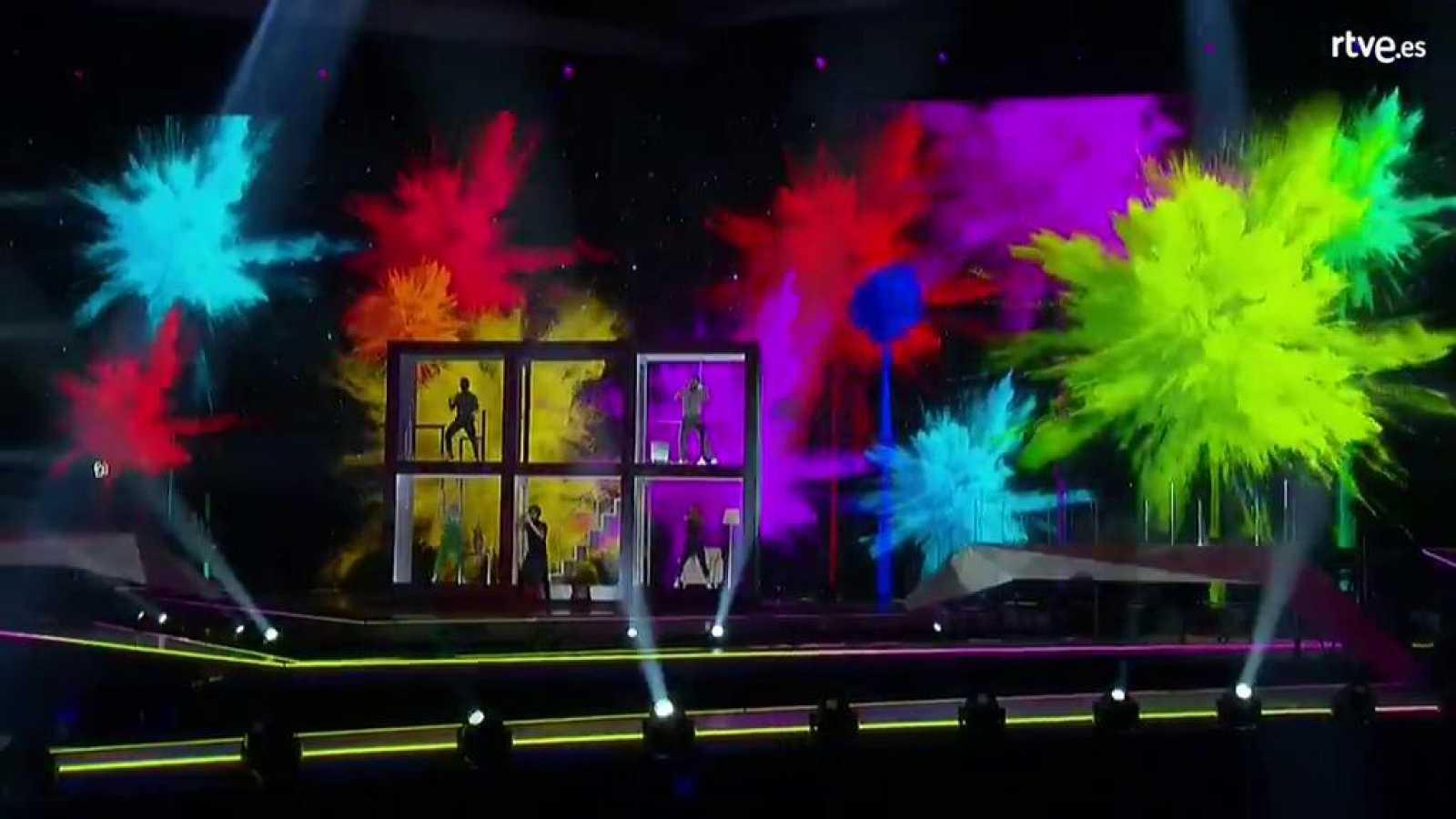 Eurovisión 2019 - Tercer pase de Miki en su primer ensayo en Tel Aviv