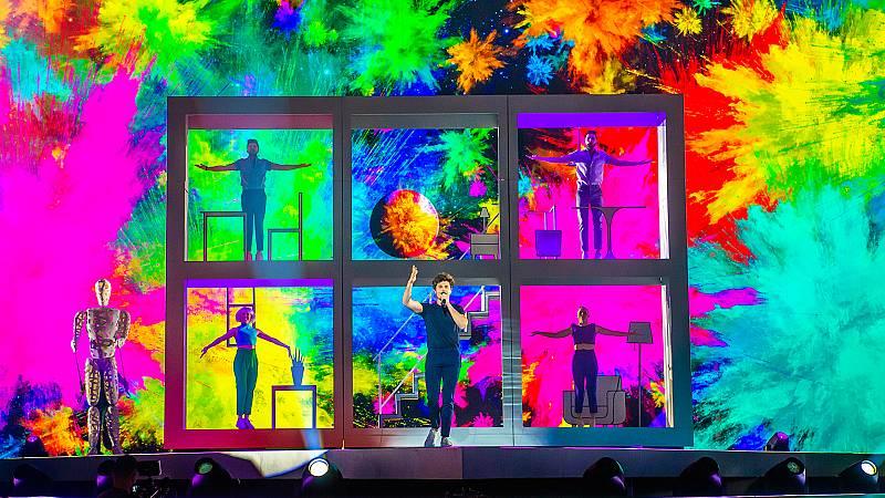 Eurovisión 2019 - Primer ensayo completo de Miki en Tel Aviv