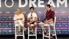 Eurovisión 2019 - Primera rueda de prensa completa de Miki en Tel Aviv