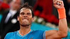 Madrid Open: Nadal arrolla a Wawrinka