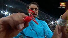 """Mutua Madrid Open. Nadal: """"Ha sido de los mejores partidos"""""""