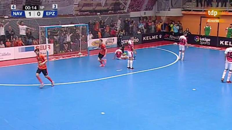 Aspil Vidal Ribera Navarra 2-0 ElPozo Murcia