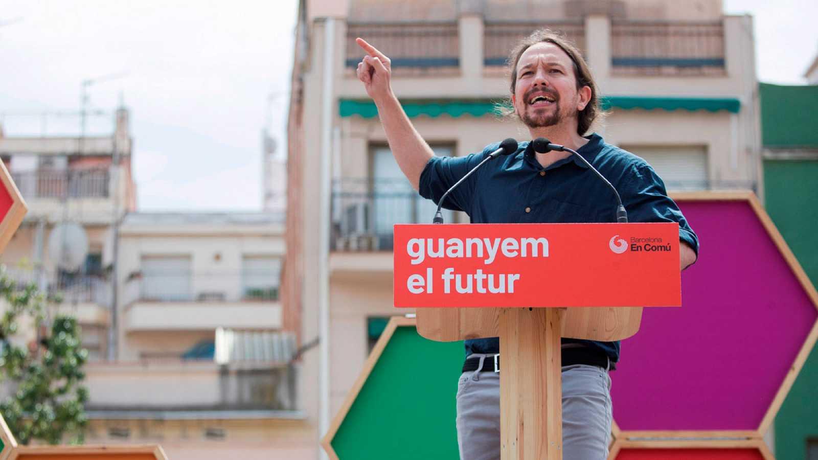 """Iglesias pide """"empuje"""" el 26M para estar en el próximo Gobierno"""