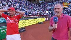 "Djokovic: ""Esta noche vamos a bailar"""