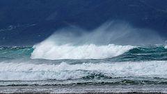 Fuerte viento y oleaje en el noreste y sur peninsular