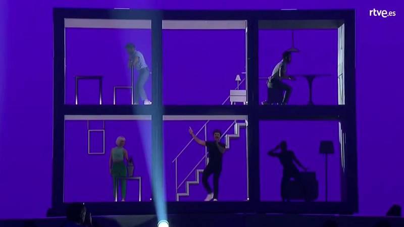 Eurovisión 2019 - Primer pase del segundo ensayo de Miki