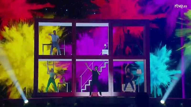 Eurovisión 2019 - Miki hace su tercer pase en el seguno ensayo