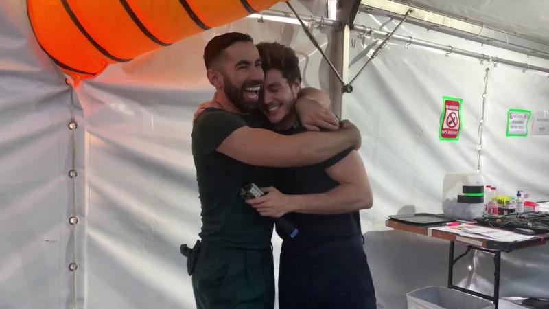 Eurovisión 2019 - La emoción de Miki y toda la delegación española después del segundo ensayo