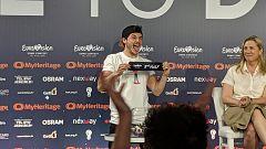 Eurovisión 2019 - Segunda rueda de prensa completa de Miki: Actuará en la segunda mitad de la final