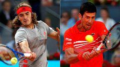 Djokovic buscará ante Tsitsipas su tercer título en Madrid