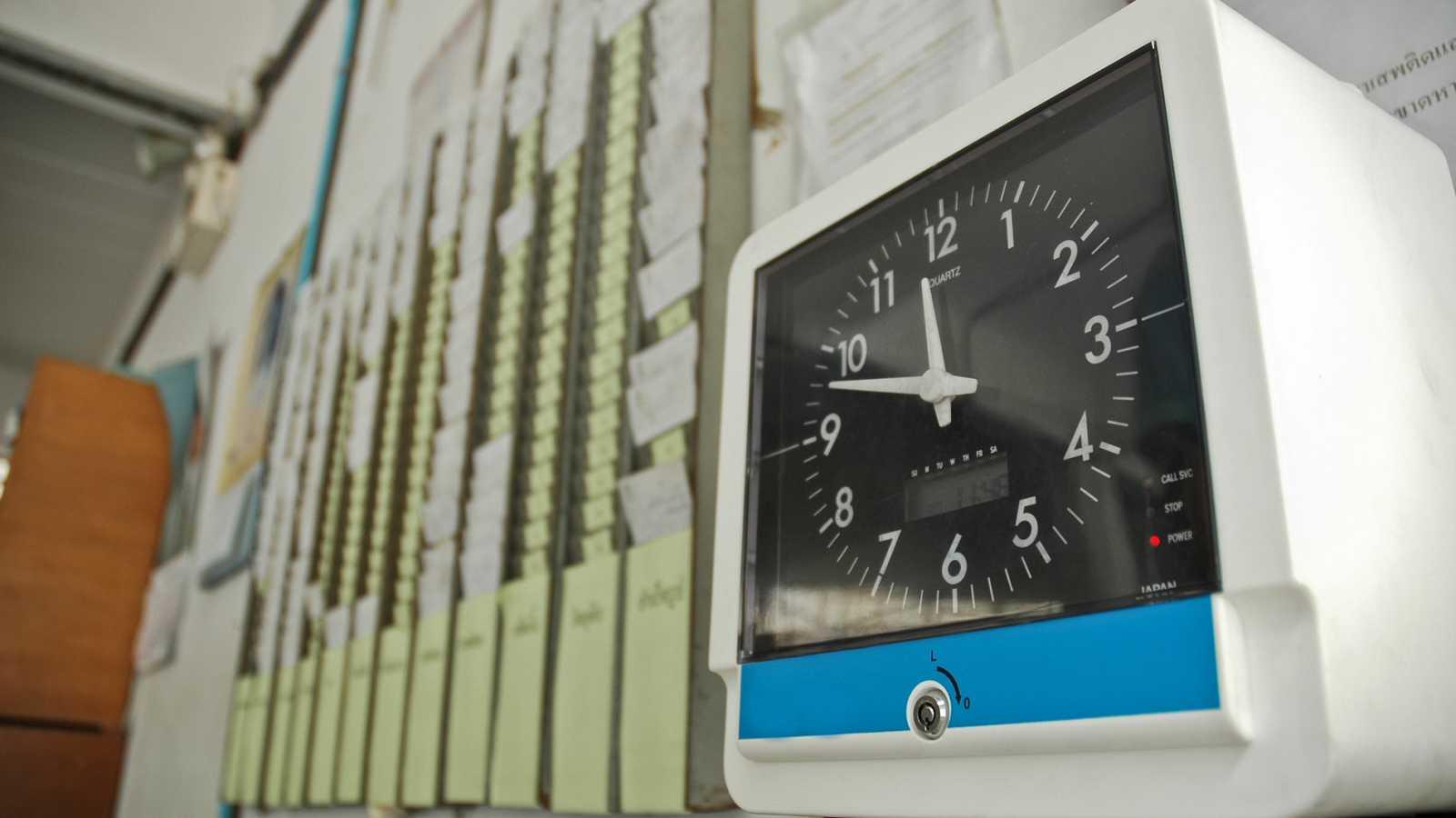 A partir de ahora será obligatorio el control horario en las empresas - Ver ahora