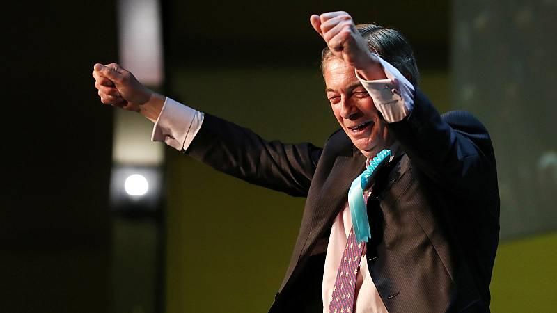 El recién creado Partido del 'Brexit', del eurófobo Nigel Farage, lidera las encuestas en Reino Unido de las elecciones europeas