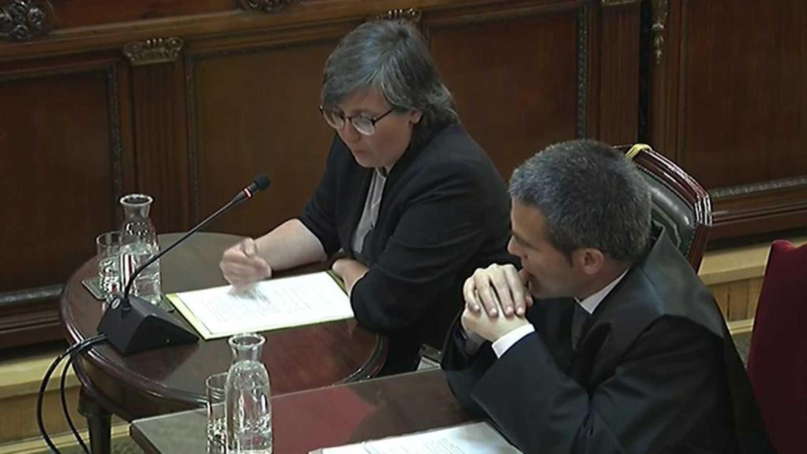 Mireia Boya asegura que discutió con Jordi Sànchez porque la CUP no quería desconvocar la protesta ante Economía y él sí