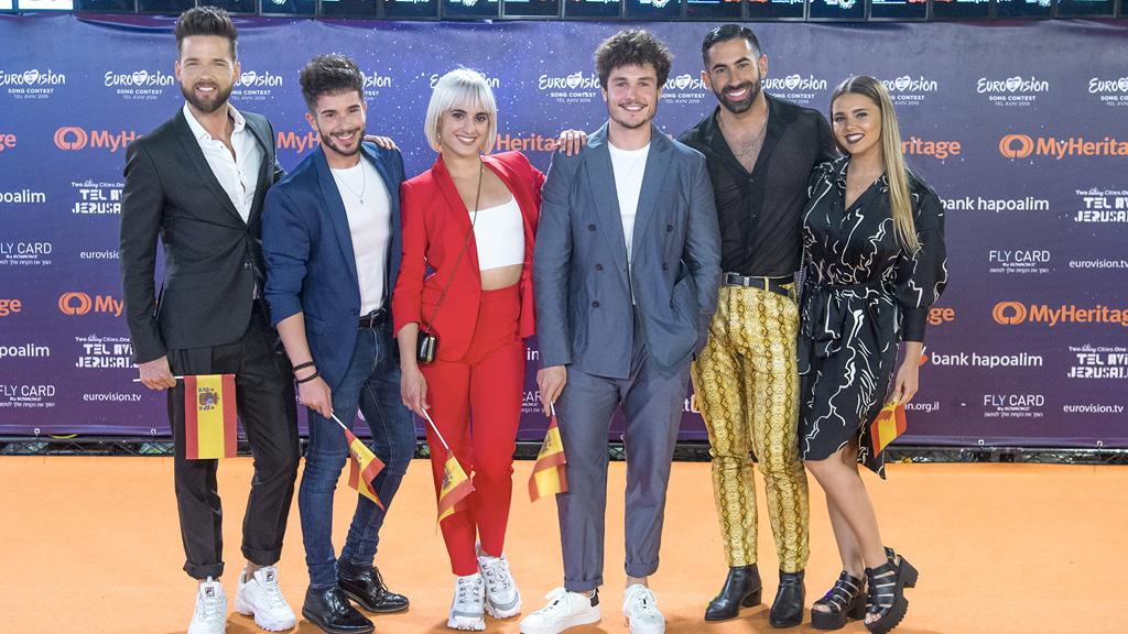 Eurovisión 2019: Así ha sido la alfombra naranja de la