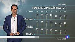 El Tiempo en Extremadura - 13/05/19