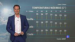 El tiempo en Andalucía - 13/05/2019