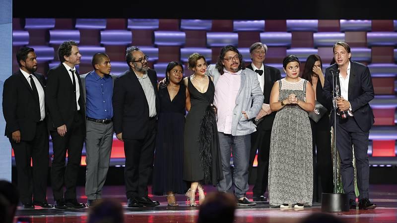La mexicana Roma, de Alfonso Cuarón, ha hecho valer su condición de favorita y ha ganado 5 de los 9 Premios Platino a los que optaba. Unos galardones que se suman a sus 3 Oscars, 2 Globos de Oro, 4 premios Bafta, el Goya a la Mejor Película Iberoamer