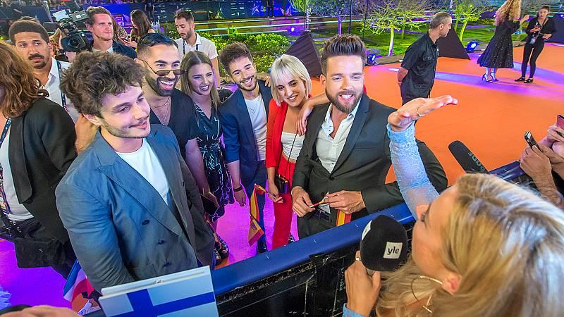 Eurovisión 2019 - La Welcome Party da comienzo a Eurovisión 2019 con la alfombra naranja
