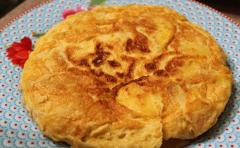 """""""Tortilla de patata"""" de Dani García"""